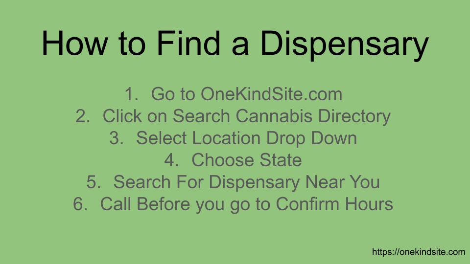 How to Find a Dispensary Near You